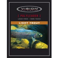 Vision PolyLeader Light trout 5Ft 5kg