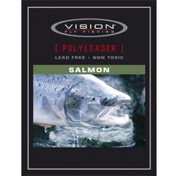 Vision PolyLeader Salmon 14Ft 18 Kg