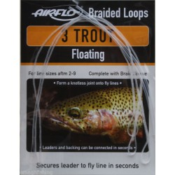 AIRFLO Braided Loops 3 Trout Floating