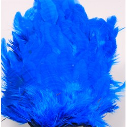 Hen patches/Soft hackle - King Fisher Blue