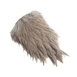 Whiting Hen Saddle Medium Dun