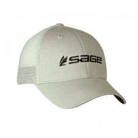 Sage Cap Mesh Back Steel