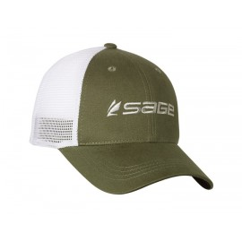 Sage Cap Mesh Back Green