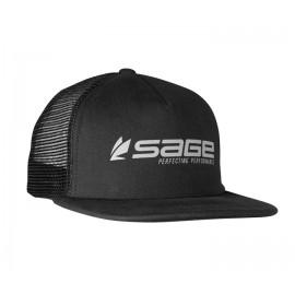Sage Trucker Cap Black