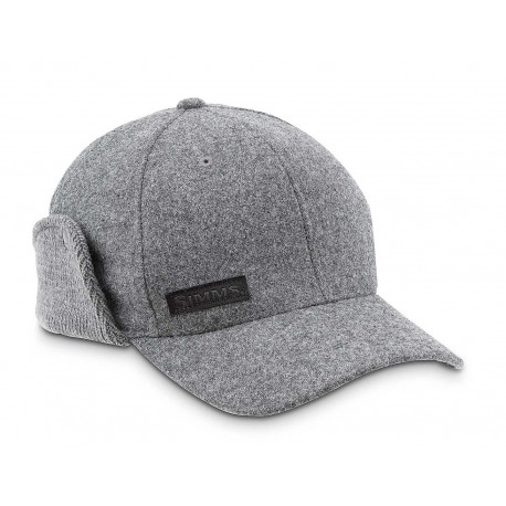 Simms Wool Scotch Cap Charcoal