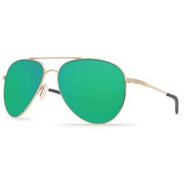 Costa Cook Brushed Palladium - Green Mirror 580P