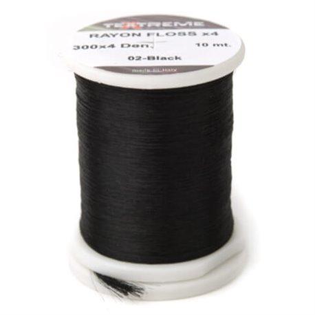 Textreme Rayon Floss - Black