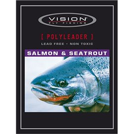 Vision Polyleader Salmon/SeaTrout 5ft