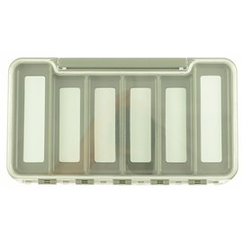 Fly Dressing Grey Box - 6m Compartments