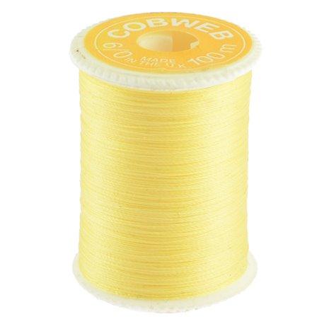 Griffiths Coweb 6/0 - Primerose Yellow Wide spool