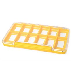 Fly Dressing Yellow Box 12M Compartments