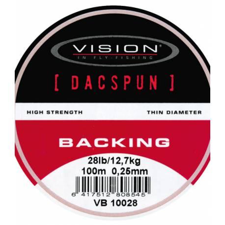Vision DACSPUN Backing 50 lb/23,0 kg, 300 m spole