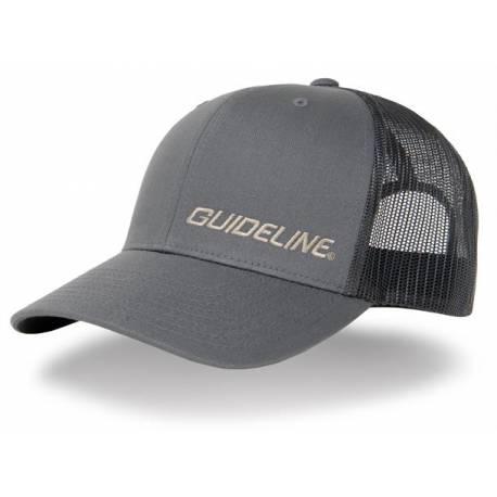 Guideline Retro Trucker Cap Charcoal/Black