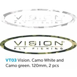 VISION Sticker 120 mm 2 pc Camo