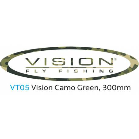 VISION Sticker Camo Green 300mm