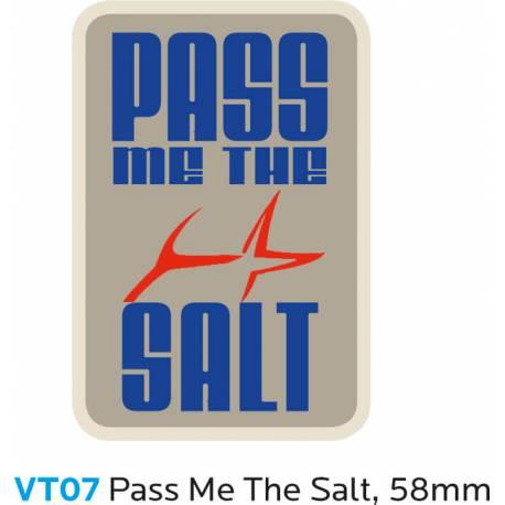 PASS ME THE SALT Sticker