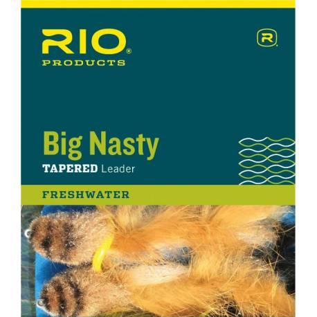 RIO Big Nasty Tapered Leader 6 ft