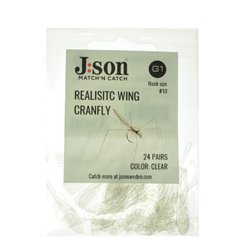 Realistic Wing CraneFly