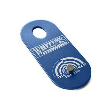 Whiting hackelmätare - Blue