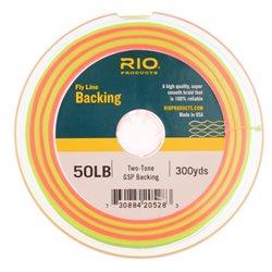 Rio 2-Tone Gel Spun Backing 50lb 300Y