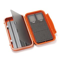 C&F Large Waterproof Tube Fly Case w. 4 comp.