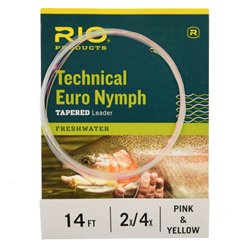 Technical Euro Nymph Tapered Leader