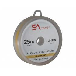 SA Absolute Shooting Line Flat Mono - 30 m - 25lb
