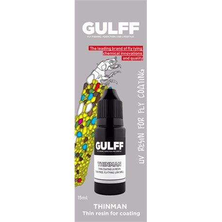 Gulff UV-lim - Clear Resins - Thinman