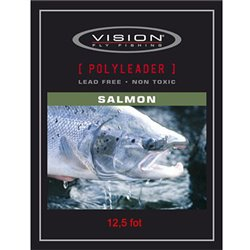 Vision PolyLeader Salmon 12,5 fot