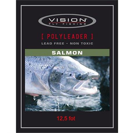 Vision PolyLeader Salmon 12,5 fot