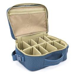 Vision Reel Bag Navy Blue - Open