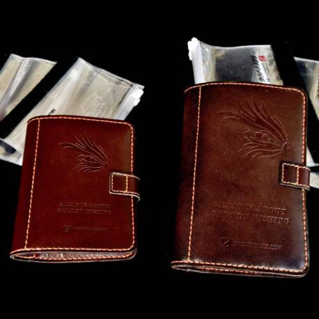 FITS Leather Fly Wallets -The Wallets come in two sizes, small and medium.