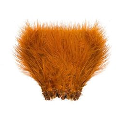 Marabou Wolly Bugger - Golden Brown