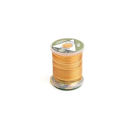 Vinyl D Rib Medium - Amber