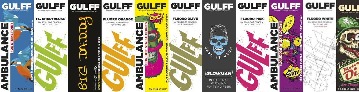 Gulff Resin UV-lim